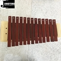 13 Tone Red Wood Box Body Soprano&Alto&Bass Xylophone 11