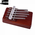 5 Tone Red Wood Mbira/Likembe/Sanza/Thumb Piano