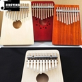 10 Tone Spruce or Pine or Red Wood Mbira
