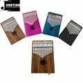17 Tone Acacia Thumb Piano/Finger Piano/Carinba/Mbira with EQ 3