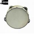 Wholesale 6&8&10 inch wood tambourine 3