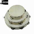 Wholesale 6&8&10 inch wood tambourine 2