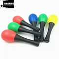 5 Colors Musical Toys Rhythm Plastic Egg Maracas