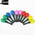 5 Colors Musical Toys Rhythm Plastic Egg Maracas 3