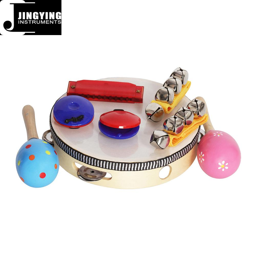 Orff 8PCS Children's Intelligence Toys, Musical Percussion sets for kids 2