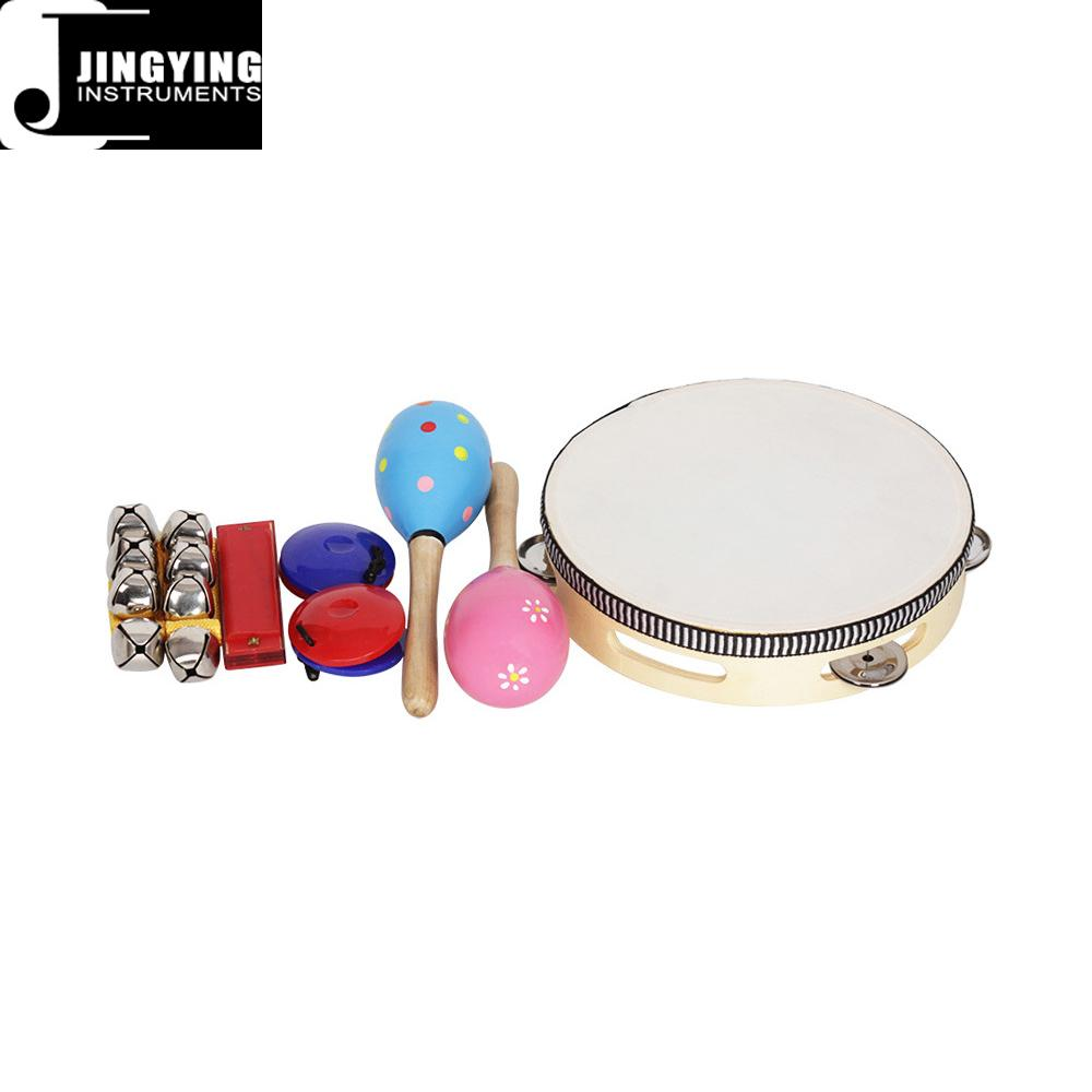 Orff 8PCS Children's Intelligence Toys, Musical Percussion sets for kids 3