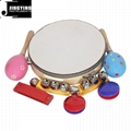 Orff 8PCS Children's Intelligence Toys, Musical Percussion sets for kids 5