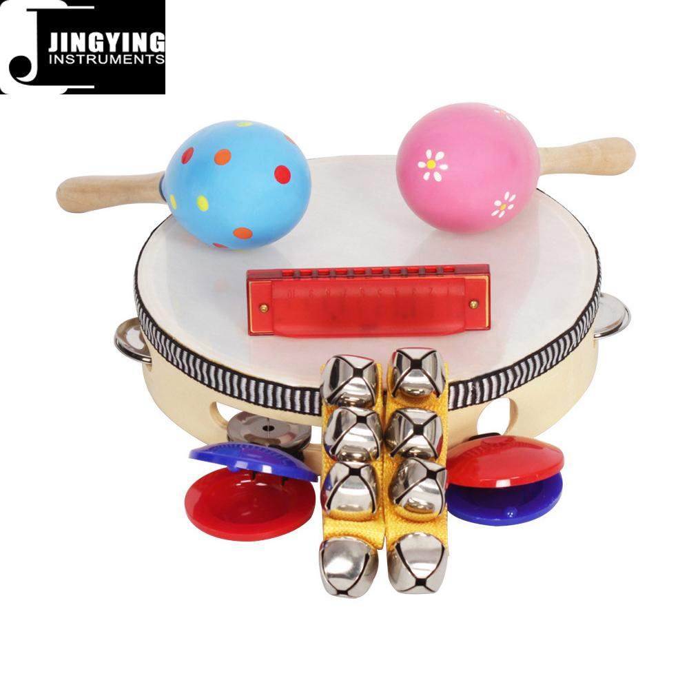 Orff 8PCS Children's Intelligence Toys, Musical Percussion sets for kids 10