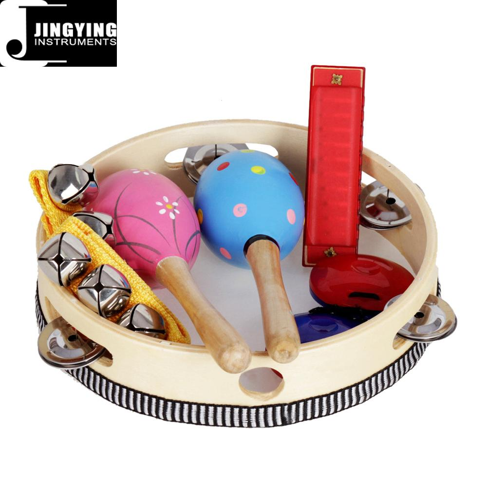 Orff 8PCS Children's Intelligence Toys, Musical Percussion sets for kids 11