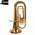 JYEU-E100 entry model 3-key Piston valve Euphonium