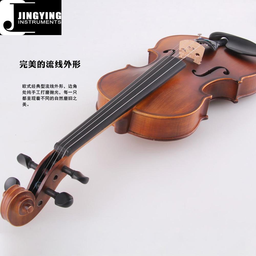 JYVL-M600 Handcraft Middle Grade Violin 3