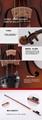 JYVL-M600 Handcraft Middle Grade Violin 12