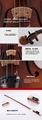 JYVL-M600 Handcraft Middle Grade Violin