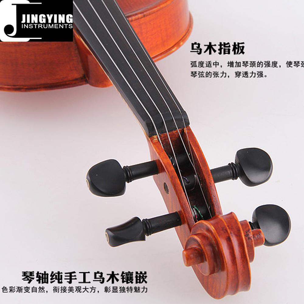 Over 15 years wood, Handcraft, Hand painting JYVL-M500 Middle Grade Violin 3