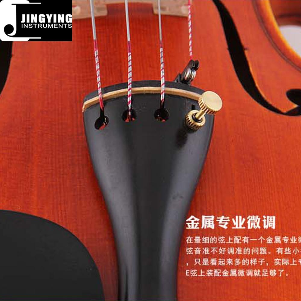 Over 20 years wood/Handcraft/Hand painting JYVL-P100 High Grade Violin 8