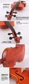 Over 20 years wood/Handcraft/Hand painting JYVL-P100 High Grade Violin 11