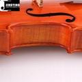 JYVL-S398 high grade flamed maple solo violin
