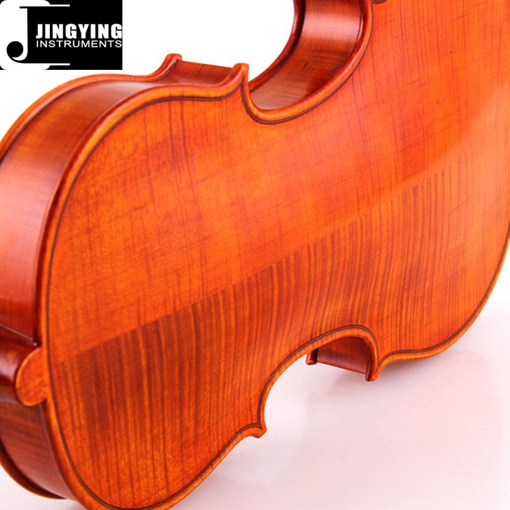 JYVL-S198 Professional handcraft high grade solo violin Factory 5