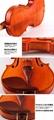 JYVL-S198 Professional handcraft high grade solo violin Factory 12