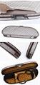 Waterproof Fabric Semi-round Violin Case with locking