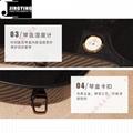 Hardshell Triangle Carbon Fiber 1/4 2/4 3/4 4/4 Violin Case 9