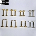 Gold or Silver Color Violin or Viola Chin Rest Screws