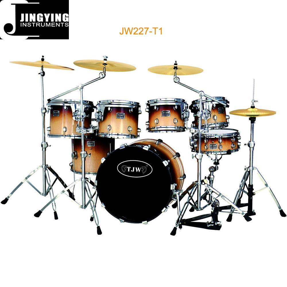 High Grade 7 pcs Painting Drum Sets/Drum Kits