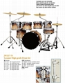 High Grade 7 pcs Painting Drum Sets/Drum Kits