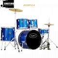 5pcs PVC Cover Drum Sets/Drum Kits 12