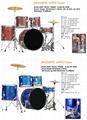 5pcs PVC Cover Drum Sets/Drum Kits 13