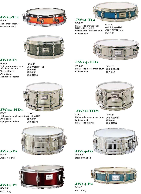 Drum Set Parts, Snare Drum 3