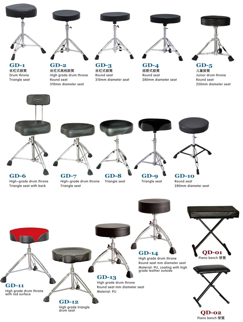 Drum Kit Parts, Drum Throne 8