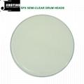 SLK Clear/SPX Semi-Clear/SPC Porcelain White/SRK Black Drum Heads 2