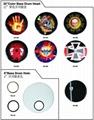 SLK Clear/SPX Semi-Clear/SPC Porcelain White/SRK Black Drum Heads