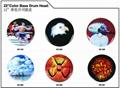 SLK Clear/SPX Semi-Clear/SPC Porcelain White/SRK Black Drum Heads 5