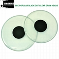 Black Dot Hydraulic/Popular Black Dot Clear/Black Dot White Coated Drum Heads