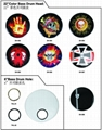 "14"" Custom Graphic Drum Heads, Colored Drum Heads"