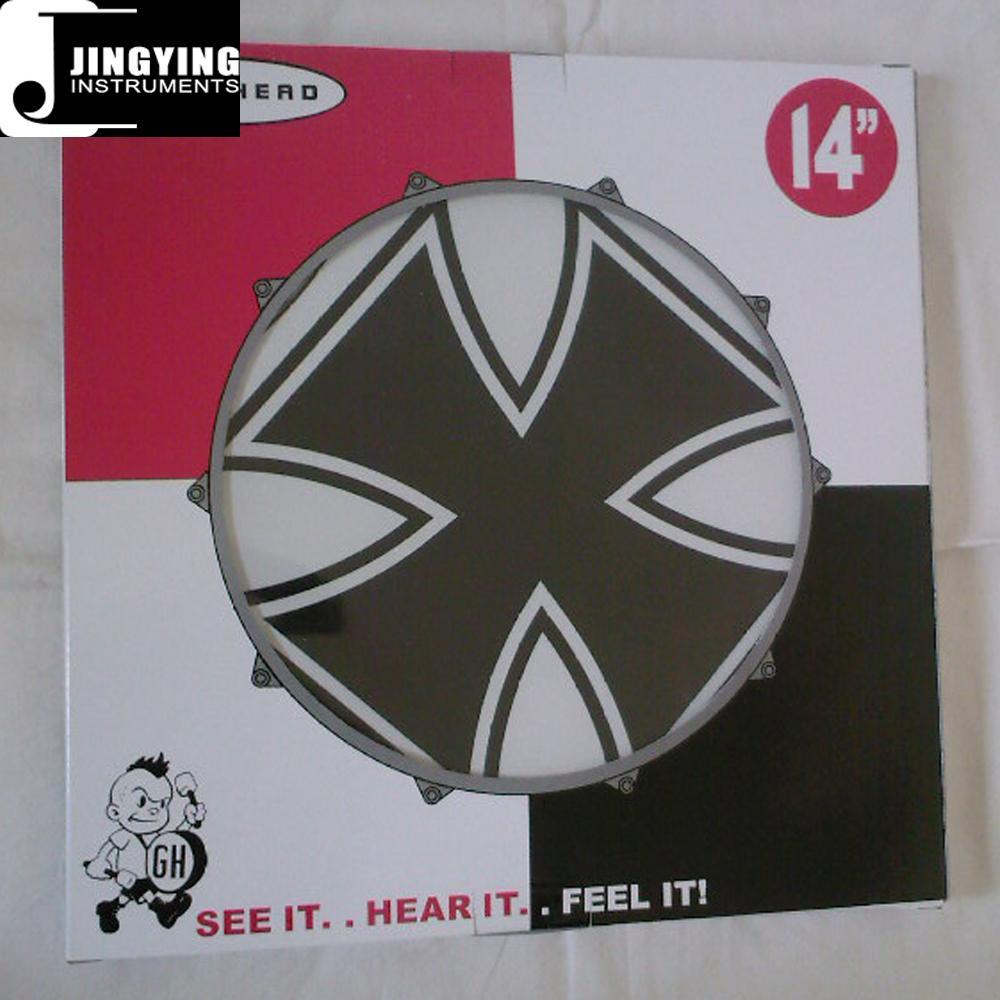 "14"" Custom Graphic Drum Heads, Colored Drum Heads 5"