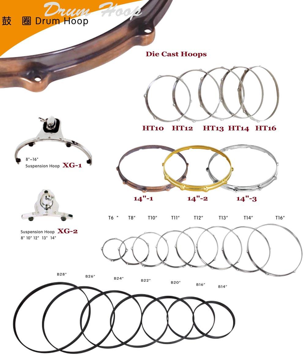 Drum Set Parts, Drum Hoops 7