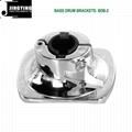 Drum Set Parts, Bass Drum Brackets/Floor Tom Brackets