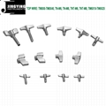 Drum Set Parts, Drum Key/Drum Screw/Top Wire