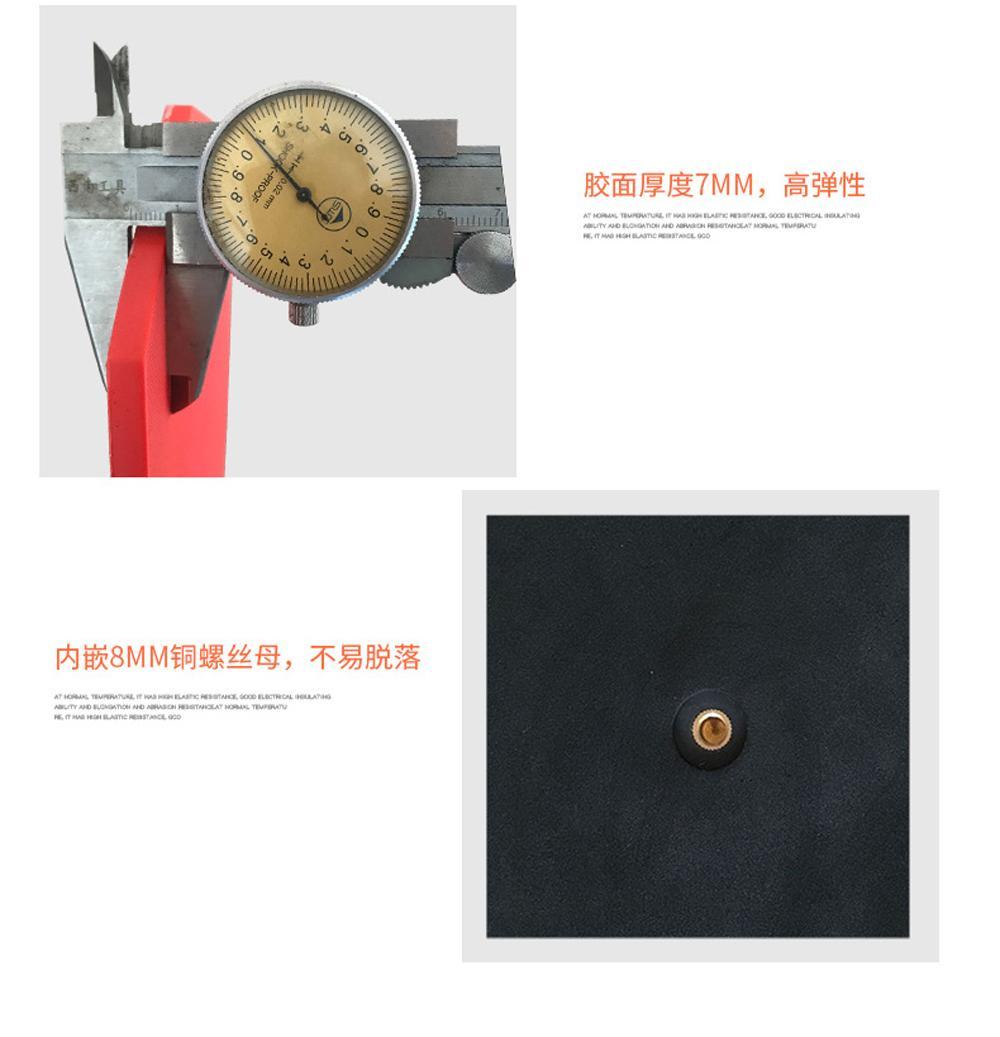 Wholesale 8-inch Rubber Practice Drum/Silent Drum 12