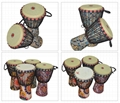Wholesale Four Flower Type 8/10/12 Inch Fabric Stitching Africa Drums 10
