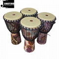 Wholesale Four Flower Type 8/10/12 Inch Fabric Stitching Africa Drums