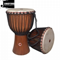 "8""/10""/12"" Plain Wood Splicing African Drums"