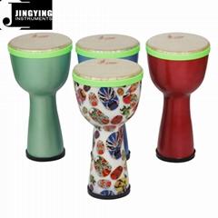 8 Inch ABS Drum Body Polyester Drum Skin African Drums
