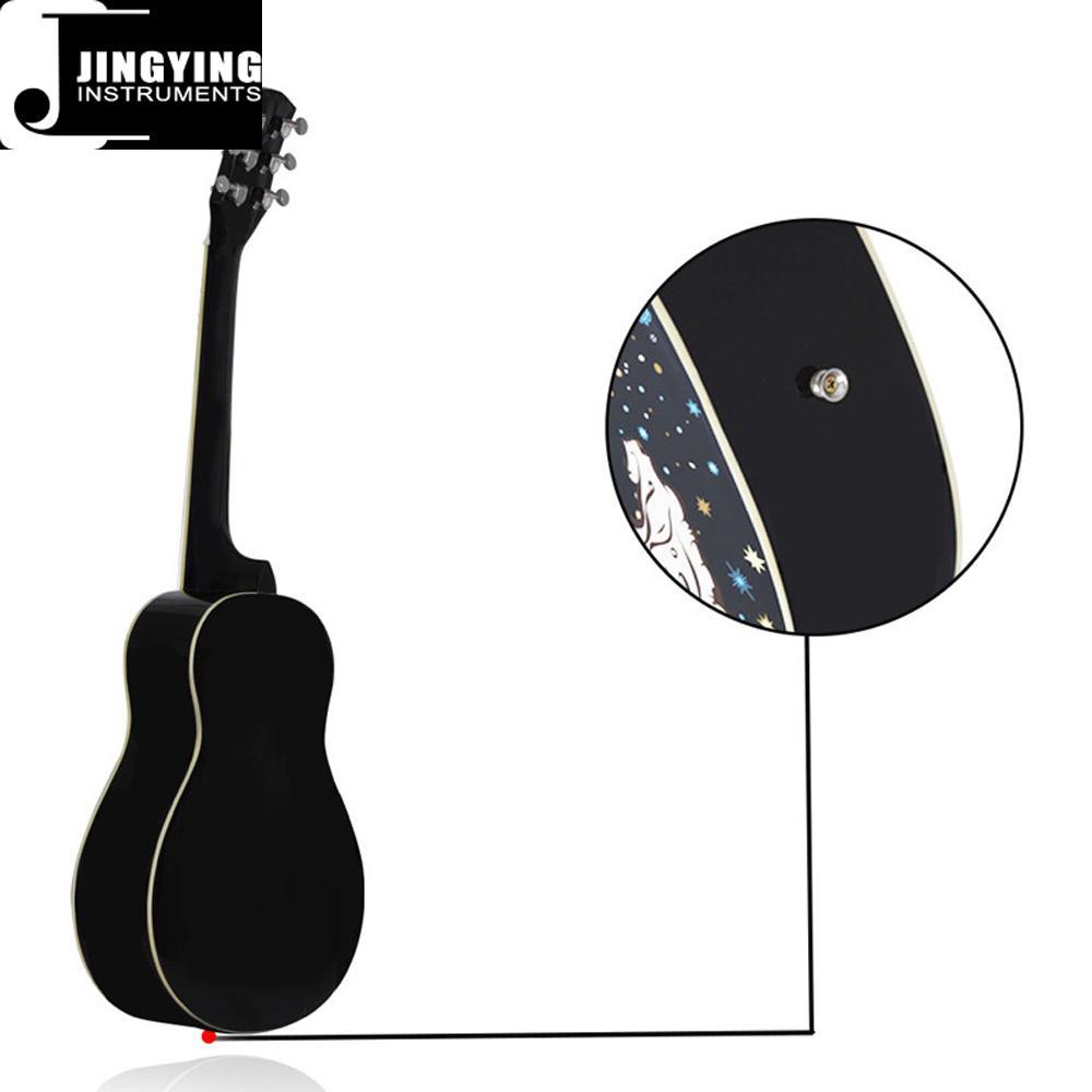 36 Inch Cartoon Angel Series Acoustic Guitars 4