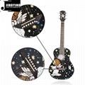 36 Inch Cartoon Angel Series Acoustic Guitars 3