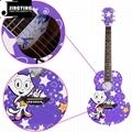 36 Inch Cartoon Angel Series Acoustic Guitars 7
