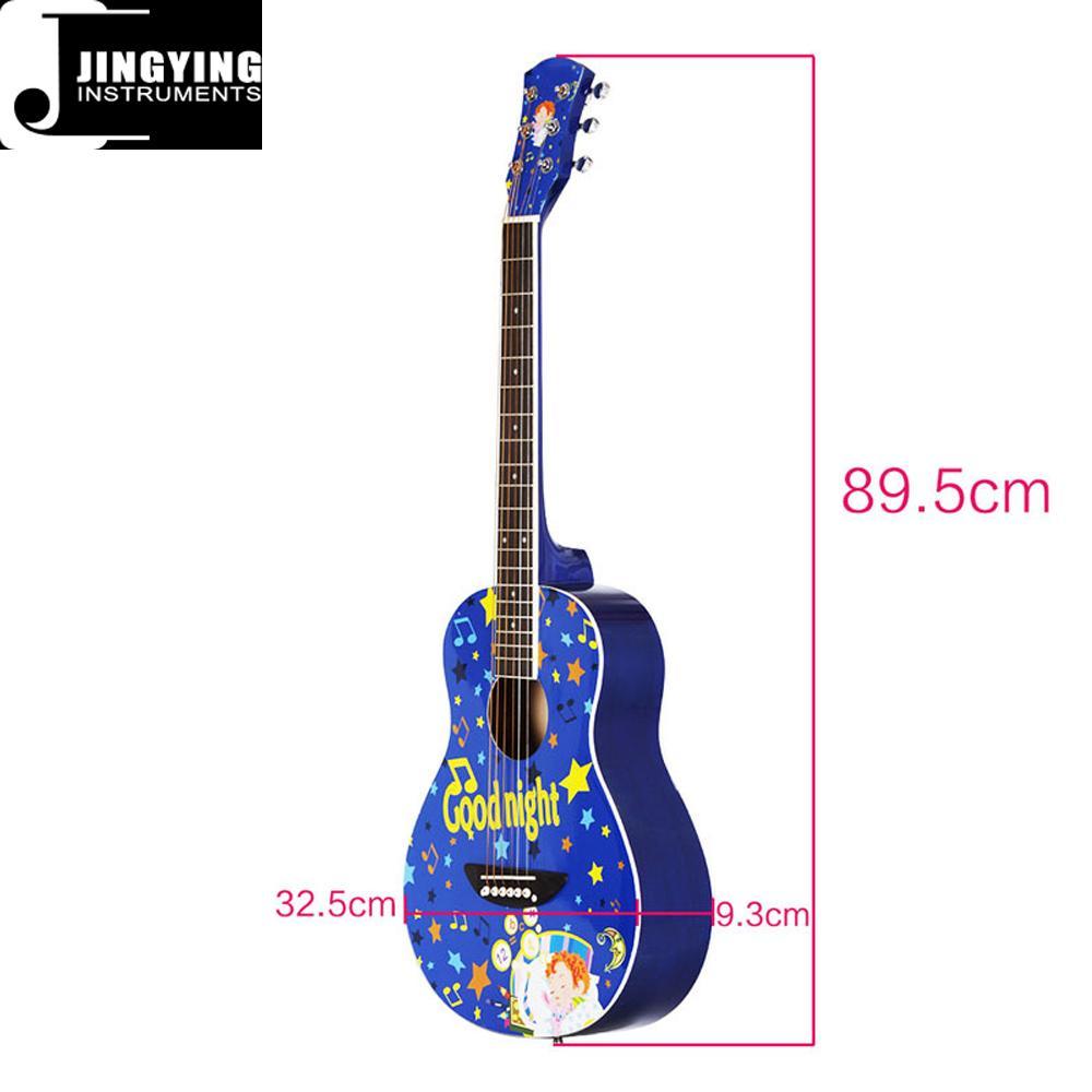 36 Inch Cartoon Angel Series Acoustic Guitars 12